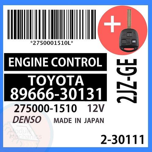 89666-30131 OEM ECU W/ Programmed Master Key Lexus GS300