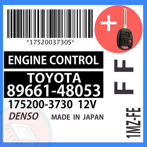 89661-48053 OEM ECU W/ Programmed Master Key Lexus RX300