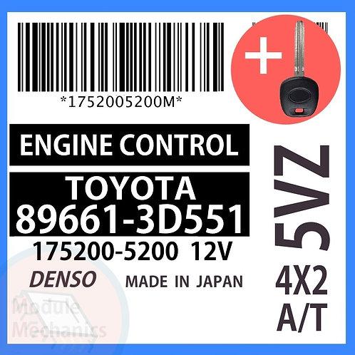 89661-3D551 OEM ECU W/ Programmed Master Key Toyota 4Runner