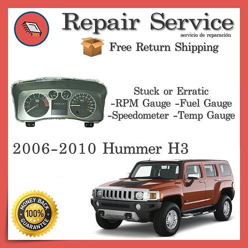 2006-2010 Hummer H3 Gauge Cluster Repair Service