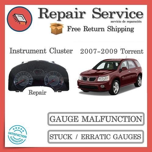 2007-2009 Pontiac Torrent Gauge Cluster Repair Service