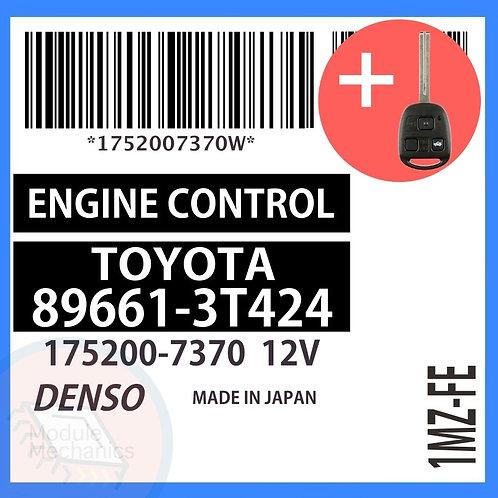 89661-3T424 OEM ECU W/ Programmed Master Key Lexus ES300