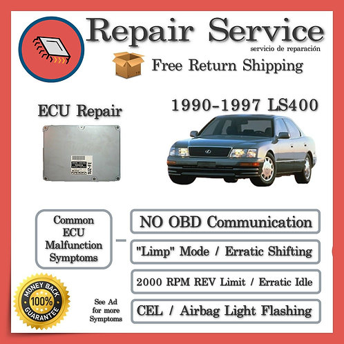 1991 Lexus LS400 Engine Computer ECU Repair Service