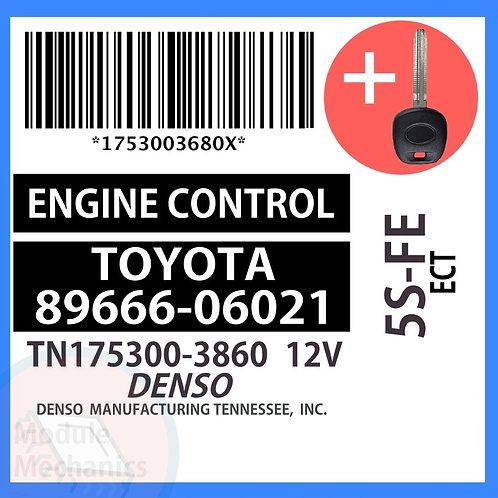 89666-06021 W/ Programmed Master Key Toyota Camry