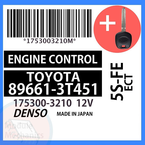 89661-3T451 W/ Programmed Master Key Toyota Camry