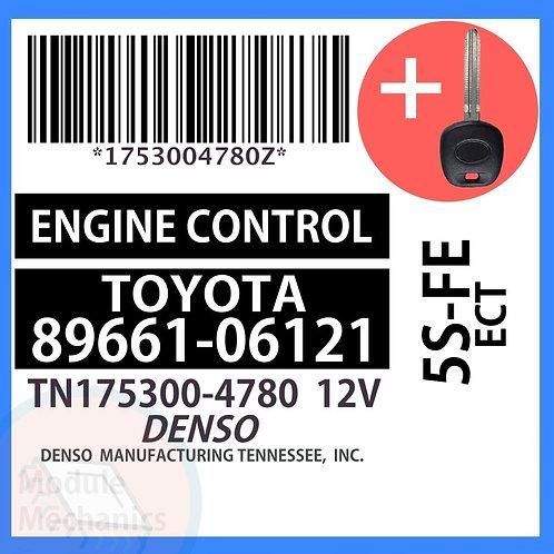 89661-06121 ECU W/ Programmed Master Key Toyota Camry