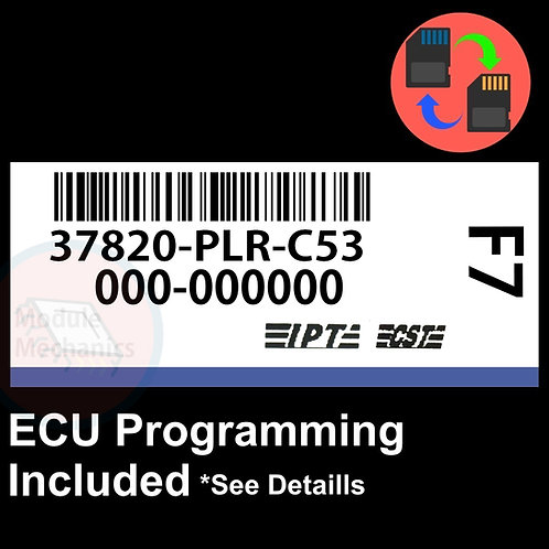 37820-PLR-C53 OEM ECU W/ Immobilizer / Security Programming Honda Civic