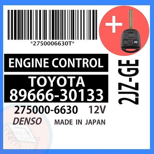 89666-30133 OEM ECU W/ Programmed Master Key Lexus GS300