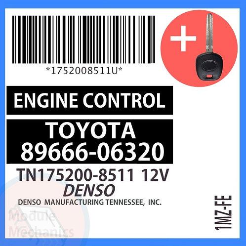 89666-06320 W/ Programmed Master Key Toyota Solara