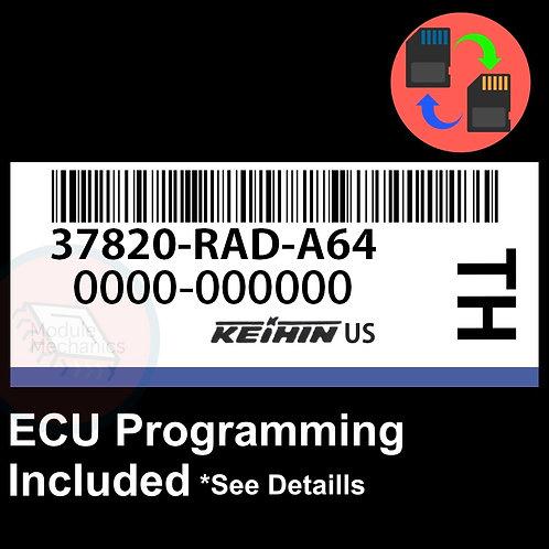 37820-RAD-A64 ECU W/ Immobilizer / Security Programming Honda Accord