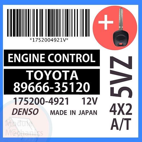89666-35120 OEM ECU W/ Programmed Master Key Toyota 4Runner