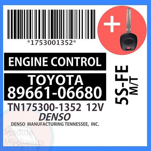 89661-06680 W/ Programmed Master Key Toyota Camry