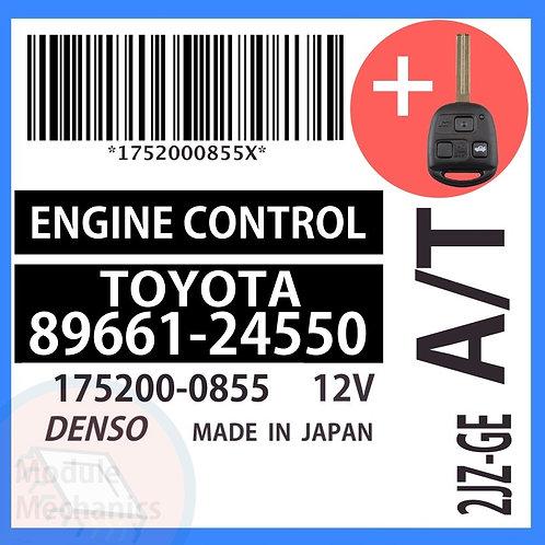 89661-24550 OEM ECU W/ Programmed Master Key Lexus SC300