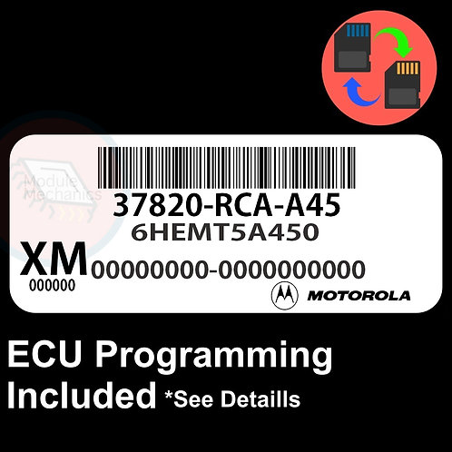 37820-RCA-A45 ECU W/ Immobilizer / Security Programming Honda Accord