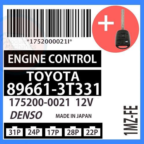 89661-3T331 OEM ECU W/ Programmed Master Key Lexus ES300