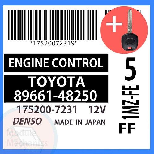 89661-48250 ECU W/ Programmed Master Key Toyota Highlander