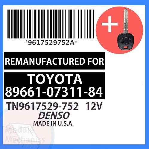 89661-07311-84 W/ Programmed Master Key Toyota Avalon