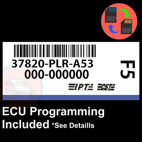 37820-PLR-A53 OEM ECU W/ Immobilizer / Security Programming Honda Civic