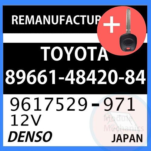 89661-48420-84 ECU W/ Programmed Master Key Toyota Highlander