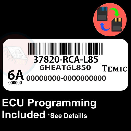37820-RCA-L85 ECU W/ Immobilizer / Security Programming Honda Accord