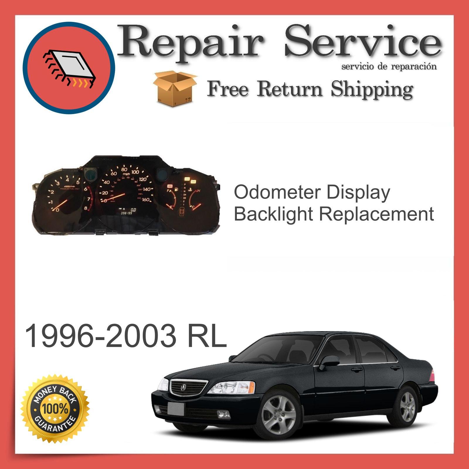 1996-2003 Acura RL Gauge Cluster Repair Service