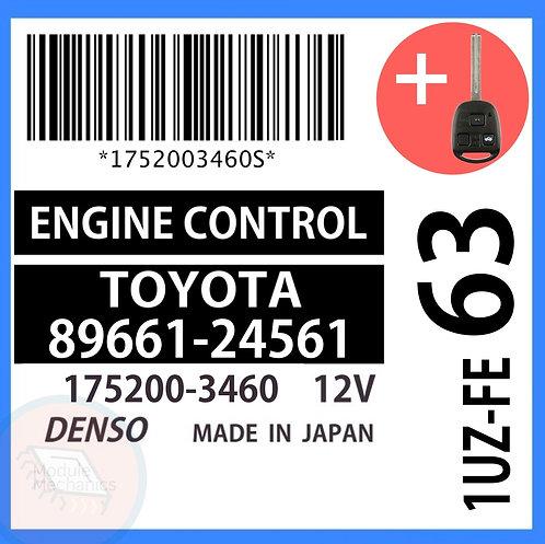 89661-24561 OEM ECU W/ Programmed Master Key Lexus SC400