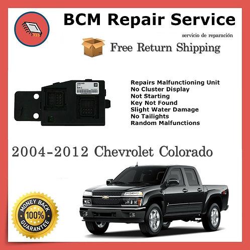 2004-2012 Chevrolet Colorado / GMC Canyon BCM Repair Service