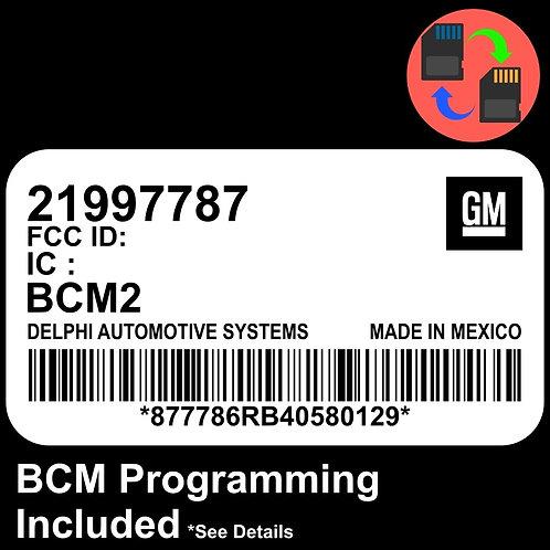 21997787 W/ PROGRAMMING Chevrolet Colorado BCM BCU Body Control Module