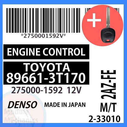 89661-3T170 ECU W/ Programmed Master Key Toyota Camry
