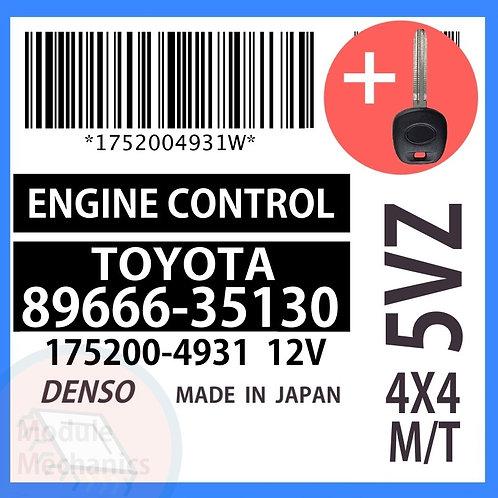 89666-35130 OEM ECU W/ Programmed Master Key Toyota 4Runner