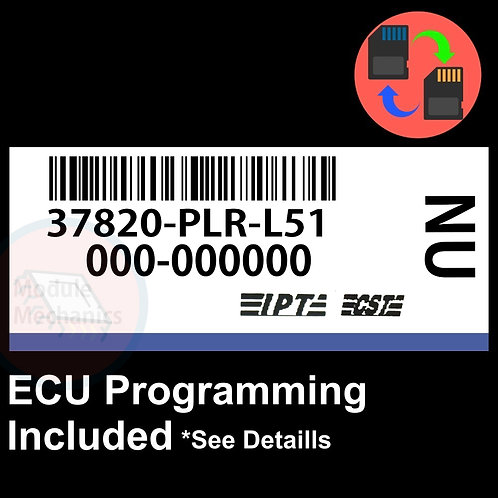 37820-PLR-L51 OEM ECU W/ Immobilizer / Security Programming Honda Civic