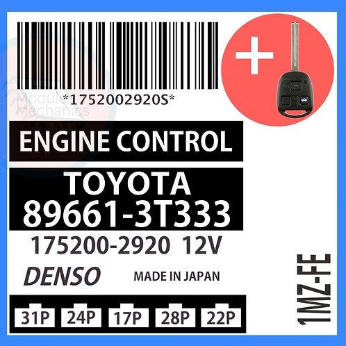 89661-3T333 OEM ECU W/ Programmed Master Key Lexus ES300
