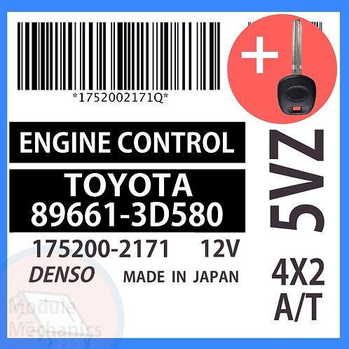 89661-3D580 OEM ECU W/ Programmed Master Key Toyota 4Runner