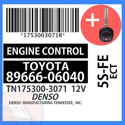 89666-06040 W/ Programmed Master Key Toyota Camry