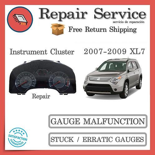 2007-2009 Suzuki XL7 Gauge Cluster Repair Service
