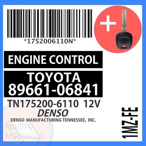 89661-06841 W/ Programmed Master Key Toyota Camry