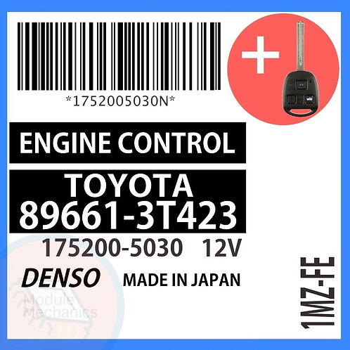 89661-3T423 OEM ECU W/ Programmed Master Key Lexus ES300