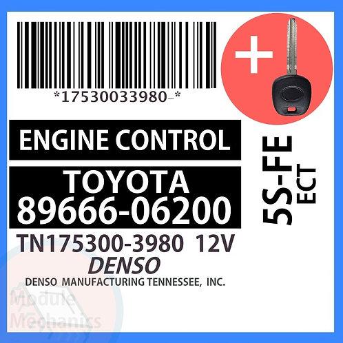 89666-06200 W/ Programmed Master Key Toyota Camry