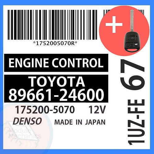89661-24600 OEM ECU W/ Programmed Master Key Lexus SC400