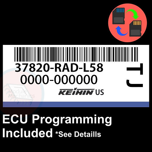 37820-RAD-L58 ECU W/ Immobilizer / Security Programming Honda Accord