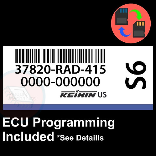 37820-RAD-415 ECU W/ Immobilizer / Security Programming Honda Accord
