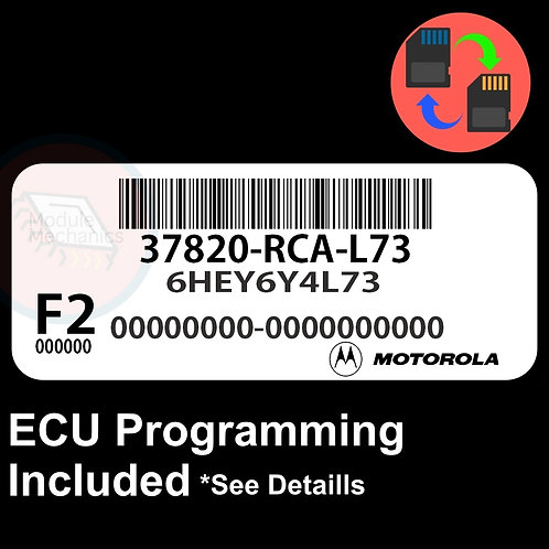 37820-RCA-L73 ECU W/ Immobilizer / Security Programming Honda Accord