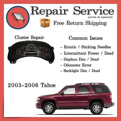 2003-2006 Chevrolet Tahoe Gauge Cluster Repair Service