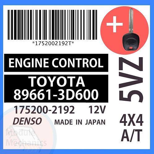 89661-3D600 OEM ECU W/ Programmed Master Key Toyota 4Runner