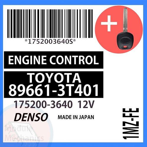 89661-3T401 W/ Programmed Master Key Toyota Camry