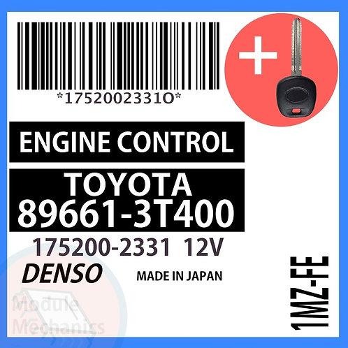 89661-3T400 W/ Programmed Master Key Toyota Camry