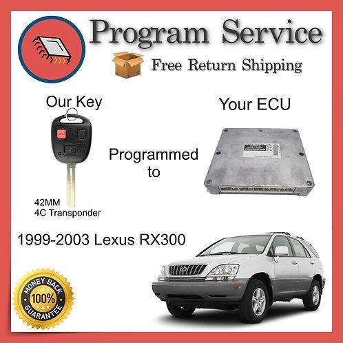 1999-2003 Lexus RX300 ECU to Key Programming Service