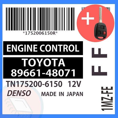 89661-48071 OEM ECU W/ Programmed Master Key Lexus RX300