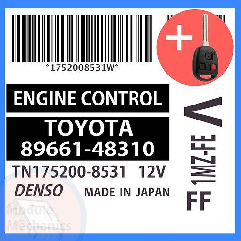 89661-48310 OEM ECU W/ Programmed Master Key Lexus RX300