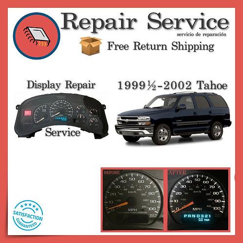 1999-2002 Chevrolet Tahoe Gauge Cluster Repair Service